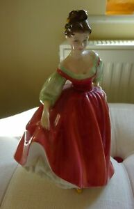 Royal Doulton Figurines-Fair Lady Red-Fragrance-Southern Belle-one lot - REDUCED