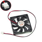 60mm x 12mm 12V 2Pin Computer PC Chipset GPU VGA Video Heatsink Cooling Fan