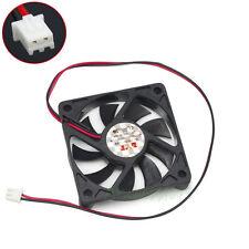 10pcs 60mm x 12mm 12V 2pin Computer PC Chipset  CPU GPU VGA Cooler Cooling Fan