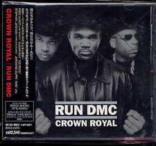 Run DMC Crown royal Japan CD w/obi  BVCA-21079