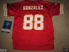Tony Gonzalez #88 Kansas City Chiefs Reebok NFL Jersey Toddler 2T NEW