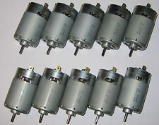10 X Mabuchi RS-555 PH Motors - 12V - 4500 RPM - High Torque Motors - 5 Poles