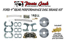 1960-1970 Ford Fairlane Disc Brake Kit Drilled/Slotted High Performance