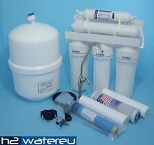 Wasserfilter Trinkwasser Umkehr Osmose Anlage RO5 +ERSATZPATRONEN 8 STÜCK