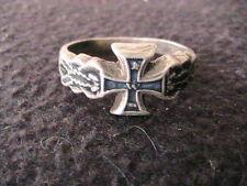 German WWI iron cross ring
