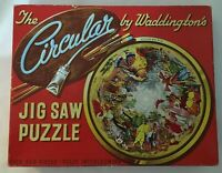 Waddingtons Circular Jigsaw Puzzle No 518 Aladdin and His Lamp 500 Pieces