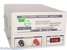CB FUNK NETZTEIL Team SNT1312 10-12 Ampere 13,8Volt für Exportgeräte & Brenner