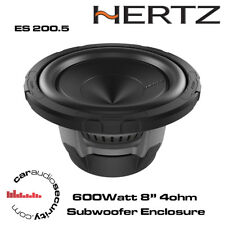 "Hertz Energy ES 200.5 8"" 600 W SUBWOOFER piatto 4Ohm"
