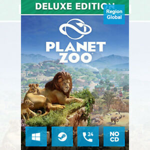 Planet Zoo Deluxe Edition for PC Game Steam Key Region Free
