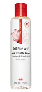 DERMA-E Anti-Wrinkle Toner w/Glycolic Acid, 6 oz