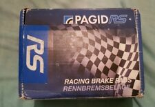 Pagid rs4-2 front race pads Renault Megane 2.0 1996 on