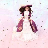1:12 Dollhouse Miniature Porcelain Dolls Dollhouse Victorian Beauty Lady xz Xj