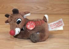 Genuine Dan Dee Rudolph the Red Nosed Reindeer Singing Plush Toy Only **READ**