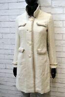 Cappotto Trench Donna Bianco BOODEN Taglia XS Giacca Giubbino Jacket Women's
