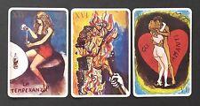 Vintage 1983 Renato Guttoso Tarot Cards Deck Italy Erotic Art