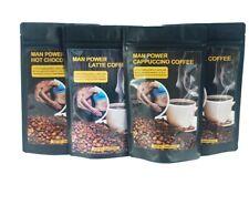 MAN POWER ARABICA COFFEE Maca root Reishi Fertility TESTOSTERONE BOOST - LATTE