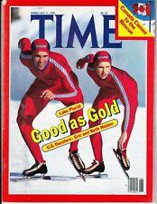 Eric Heiden February 1980 Winter Olympics Speedskating Time Magazine No Label