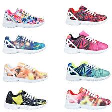 Sneakers Donna In Tessuto Sportive Vari Colori Con Lacci Da Corsa Stringate A...