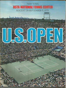 1979 Tennis US Open Program and Daily Draw sheet 2nd year at Flushing Meadows