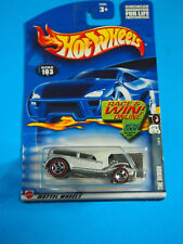 Hot Wheels 103 The Demon, 2002 Red Line 1/4, Variant Card, Car and Card Mint