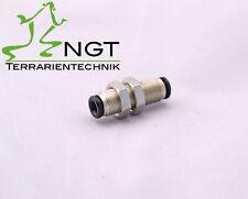 Schottenschluss 20mm Einbautiefe 4mm Schlauch Terrarien Beregnung NGT