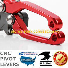 US For CRF250X/450X 2005-2017 CNC Dirt/Pit Bike Pivot Brake Clutch Levers 2016