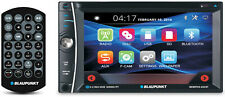 BLAUPUNKT CAR AUDIO DOUBLE DIN 6.2 TOUCHSCREEN LCD DVD CD MP3 BLUETOOTH STEREO