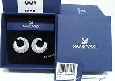 Swarovski Stone Pierced Earrings, Clear Crystal Authentic MIB - 5017145