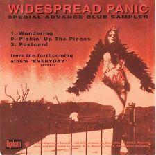 WIDESPREAD PANIC Special Advanced Club Sampler 3 trk CD 1993 Angelina Jolie cvr!