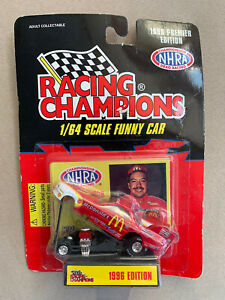 New Cruz Pedregon Racing Champions NHRA 1996 Premier Edition Mcdonalds Free Ship
