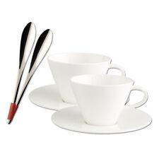 Villeroy & Boch Caffe Club Cafe au lait Set 6tlg. Tasse Untertasse Löffel