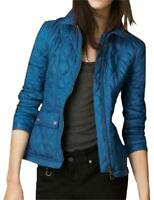 BURBERRY Brit Ivymoore Vibrant Blue Quilted Jacket XS, S, M, L, XL