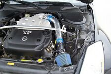 RAM AIR INTAKE KIT +BLUE FILTER For 03-06 Infiniti G35 3.5L V6 Coupe/Sedan