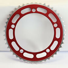 Old School BMX Chainring 5 Bolt  130BCD Red