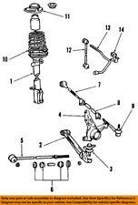 TOYOTA OEM 85-89 MR2 Rear Suspension-Strut Mount 4875017010