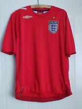WORLD CUP ENGLAND UMBRO Football Shirt Maglia Retro XL AWAY 2006/2008 Camiseta