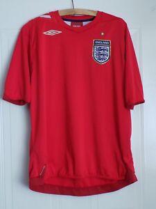 England Vintage Football Shirt Maglia Retro AWAY 2006/2008 Umbro Camiseta Mens