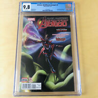 ALL-NEW ALL-DIFFERENT AVENGERS #9 CGC 9.8 1ST COVER APPEARANCE & ORIGIN NADIA