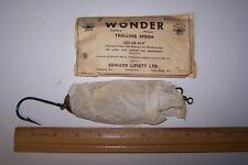 Wonder Trolling Spoon New In Envelope Edward Lipsett LTD. Canadian Made