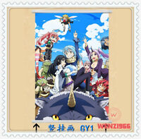 Home Scroll Anime That Time I Got Reincarnated as a Slime Wall Poster Gift #VC12