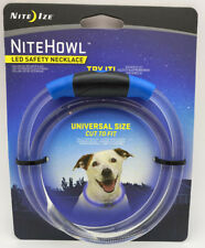 Nite Ize NiteHowl Universally Sized LED Safety Blue Necklace 60HRS NHO-03-R3