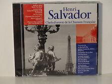 CD ALBUM Chefs d oeuvre de la chanson francaise HENRI SALVADOR CF 004 NEUF