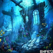 Halloween 10'x10' Computer/digital Vinyl Scenic Photo Background Backdrop BHF672
