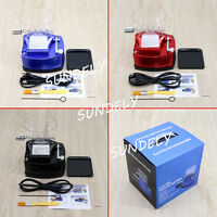 UK Electric Cigarette Rolling Machine Tobacco Roller Automatic Injector Maker