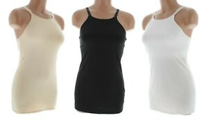 Jockey Women's Camisole Top Cotton Allure Cami Adjustable Built-in Shelf Bra $30