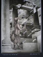 Delmeire François-xavier - pièce unique, collage papier - Devoir de mémoire  -