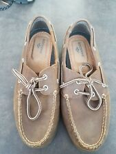 Dockers Leather Loafers brown casual dress Size 7.5 M mens vargas boatshoes