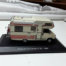 Pilote R 470 Citroën C25 1984 COLLECTION CAMPING CAR ALTAYA IXO ATLAS