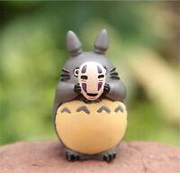 Studio Ghibli My Neighbor Totoro Figure Cosplay No Face Man Toy Home Decor 4CM
