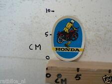 STICKER,DECAL HONDA  MOTORCYCLE VINTAGE MOTO